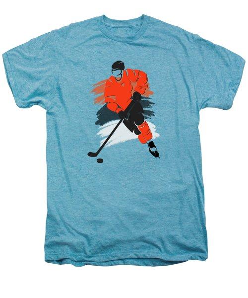 Philadelphia Flyers Player Shirt Men's Premium T-Shirt by Joe Hamilton