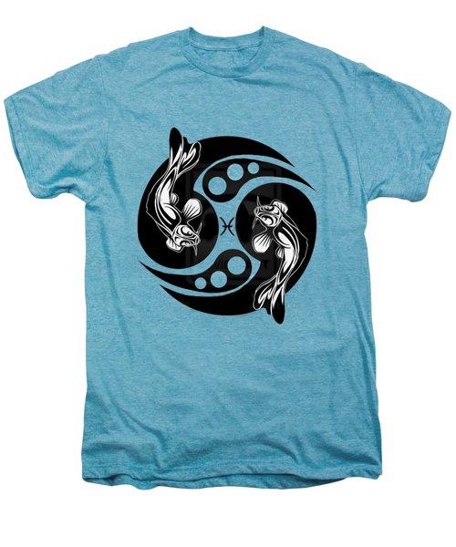 Pisces Koi Men's Premium T-Shirt by  Fli Art