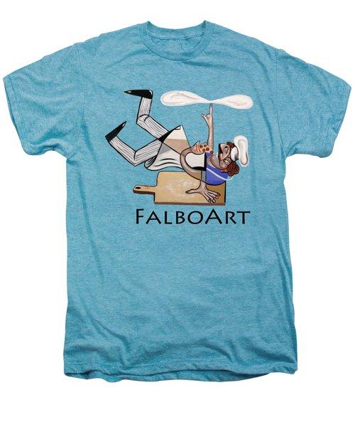 Pizza Break T-shirt Men's Premium T-Shirt by Anthony Falbo