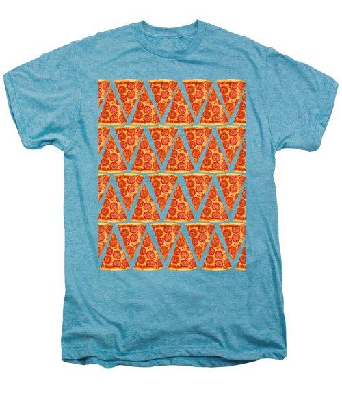 Pizza Slices Men's Premium T-Shirt by Diane Diederich