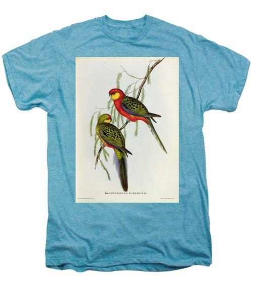 Platycercus Icterotis Men's Premium T-Shirt by John Gould