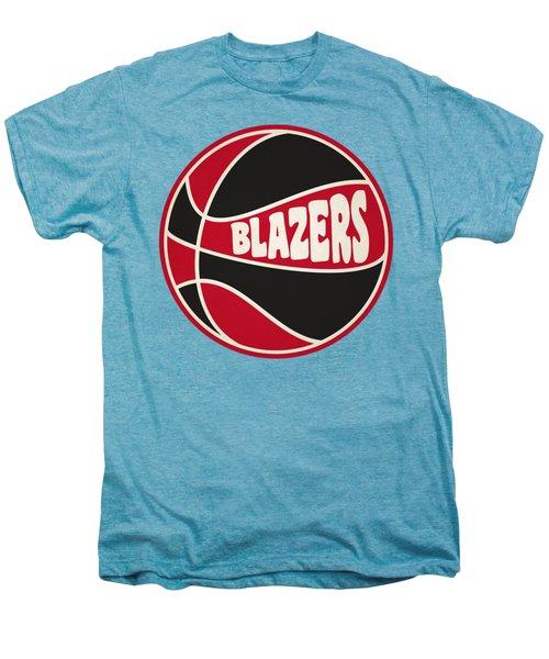 Portland Trail Blazers Retro Shirt Men's Premium T-Shirt by Joe Hamilton