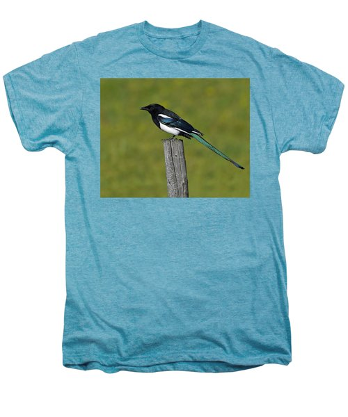 Prairie Perch Men's Premium T-Shirt by Tony Beck