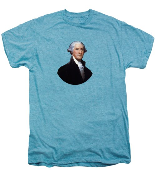 President George Washington Men's Premium T-Shirt by War Is Hell Store