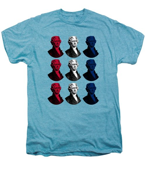 President Thomas Jefferson - Red, White, And Blue Men's Premium T-Shirt by War Is Hell Store