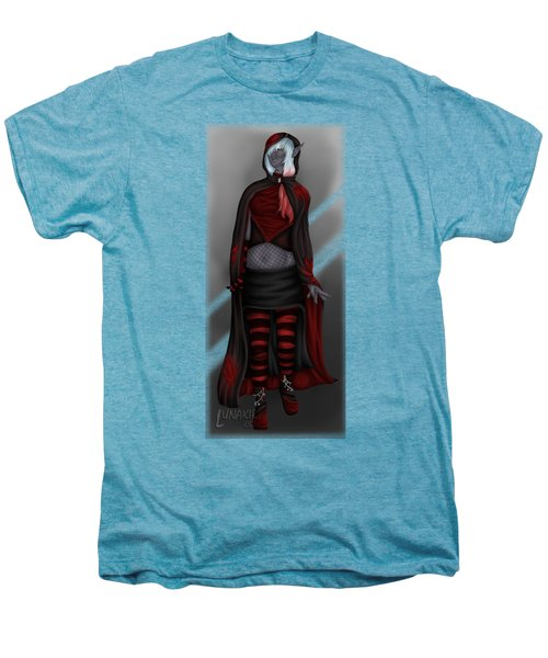 Pretentious Elf Men's Premium T-Shirt by Amber Armstrong