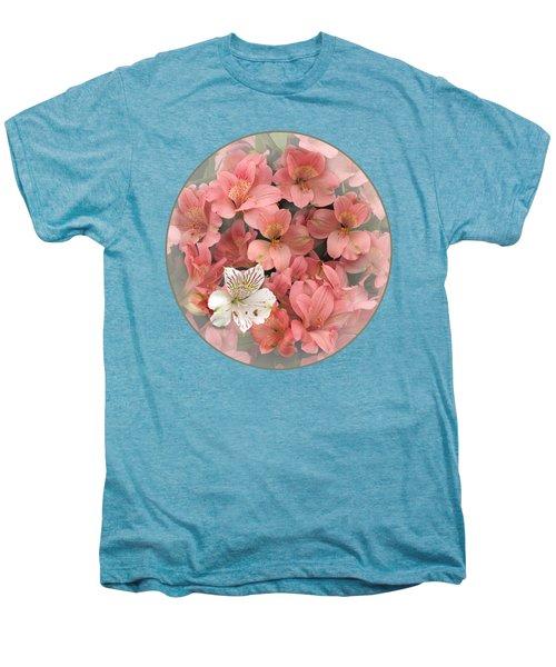 Prima Donna - Alstroemeria Men's Premium T-Shirt by Gill Billington