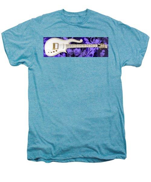 Purple Reign Men's Premium T-Shirt by Daniel Rojas
