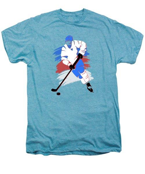 Quebec Nordiques Player Shirt Men's Premium T-Shirt by Joe Hamilton