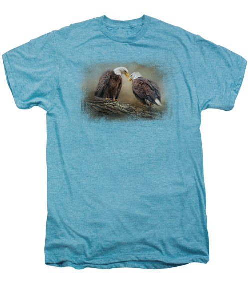 Quiet Conversation Men's Premium T-Shirt by Jai Johnson