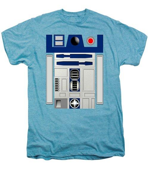 R2d2 Men's Premium T-Shirt by Janis Marika