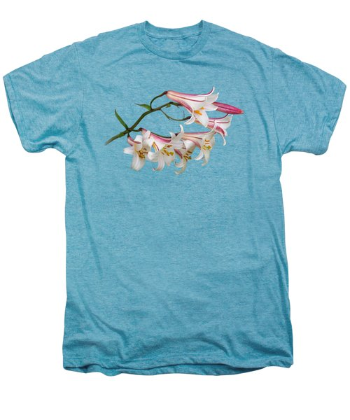 Radiant Lilies Men's Premium T-Shirt by Gill Billington