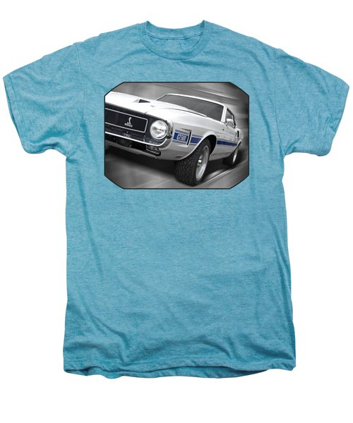 Rain Won't Spoil My Fun - 1969 Shelby Gt500 Mustang Men's Premium T-Shirt by Gill Billington
