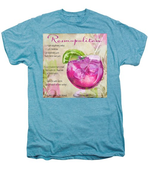 Rasmopolitan Mixed Cocktail Recipe Sign Men's Premium T-Shirt by Mindy Sommers