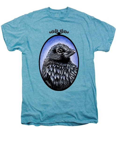 Raven Men's Premium T-Shirt by Kim Niles