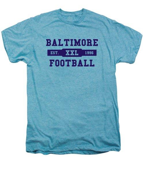 Ravens Retro Shirt Men's Premium T-Shirt by Joe Hamilton