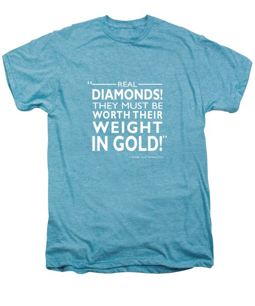 Real Diamonds Men's Premium T-Shirt by Mark Rogan