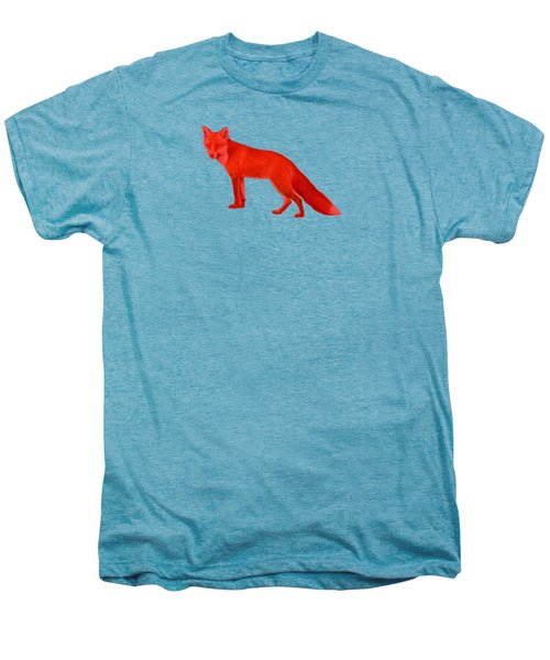Red Fox Forest Men's Premium T-Shirt by Movie Poster Prints