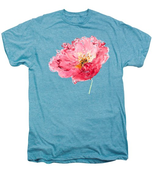 Red Poppy Painting Men's Premium T-Shirt by Jan Matson