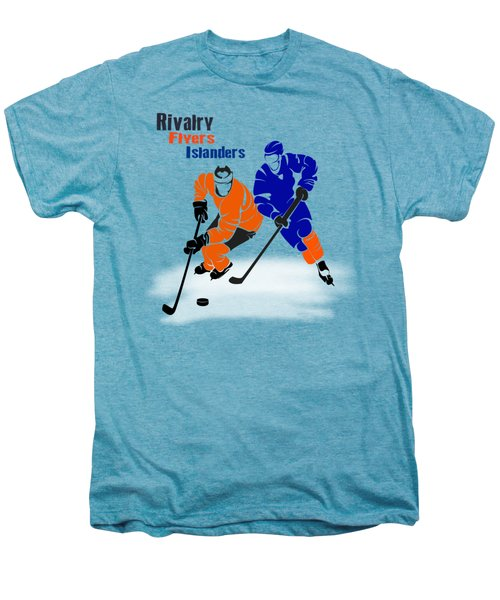 Rivalry Flyers Islanders Shirt Men's Premium T-Shirt by Joe Hamilton