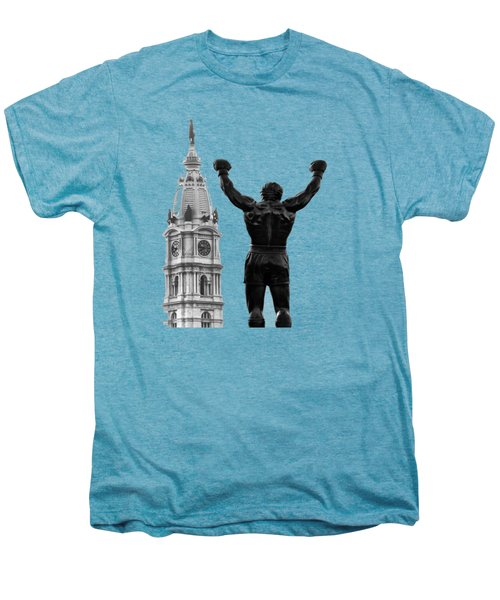 Rocky - Philly's Champ Men's Premium T-Shirt by Bill Cannon