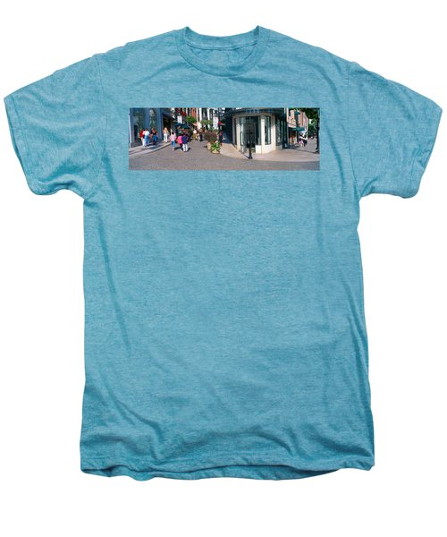 Rodeo Drive, Beverly Hills, California Men's Premium T-Shirt by Panoramic Images