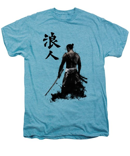 Ronin Men's Premium T-Shirt by Nicklas Gustafsson