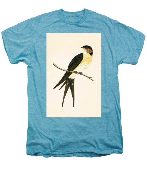 Rufous Swallow Men's Premium T-Shirt by English School