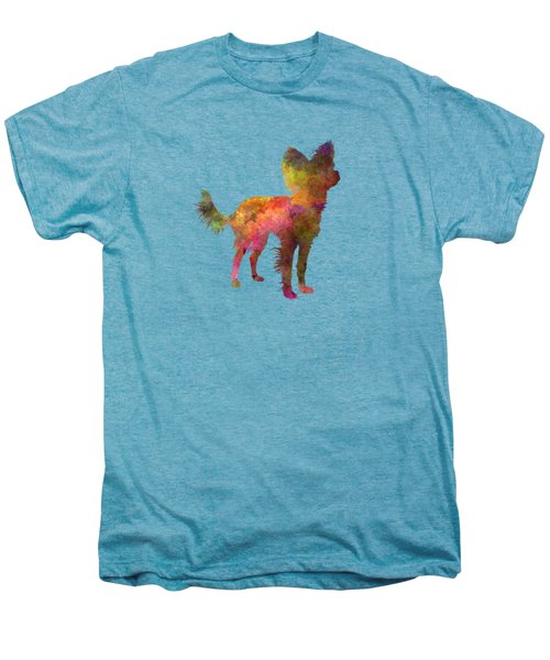 Russian Toy 02 In Watercolor Men's Premium T-Shirt by Pablo Romero