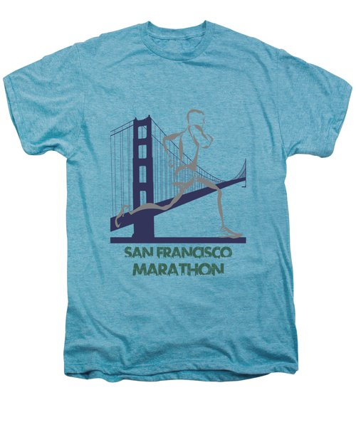 San Francisco Marathon2 Men's Premium T-Shirt by Joe Hamilton