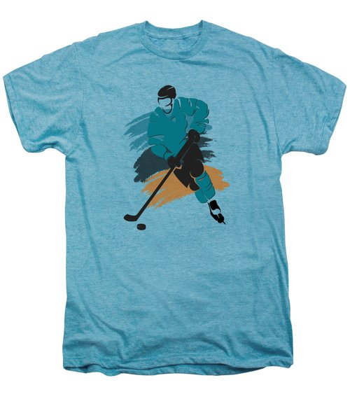 San Jose Sharks Player Shirt Men's Premium T-Shirt by Joe Hamilton