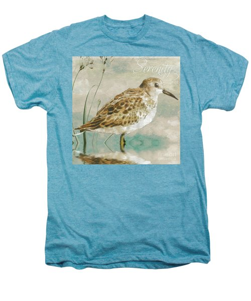 Sandpiper I Men's Premium T-Shirt by Mindy Sommers