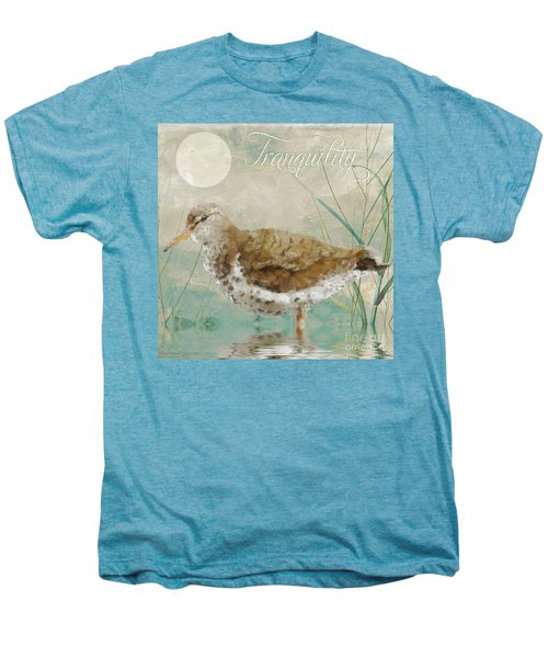 Sandpiper II Men's Premium T-Shirt by Mindy Sommers