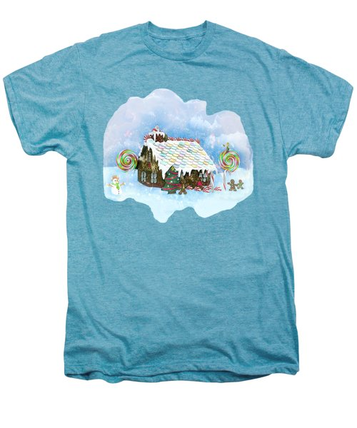 Santa Loves Cookies Men's Premium T-Shirt by Methune Hively