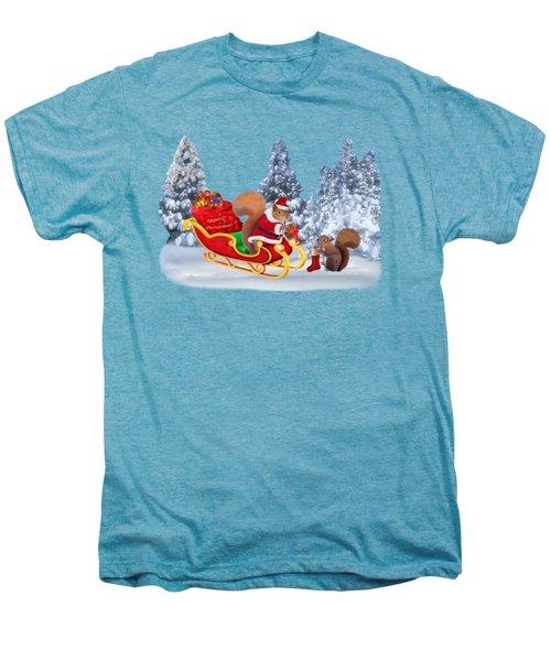 Santa's Little Helper Men's Premium T-Shirt by Glenn Holbrook