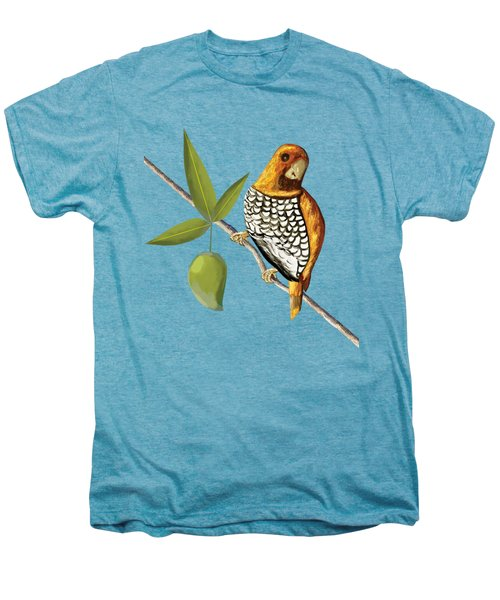 Scaly Breasted Munia D Men's Premium T-Shirt by Thecla Correya