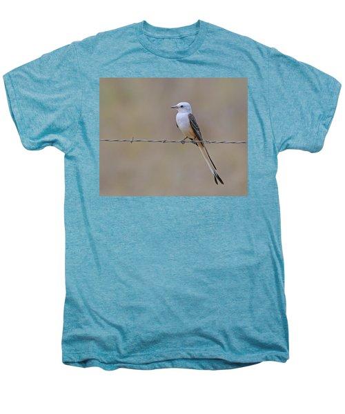 Scissor-tailed Flycatcher Men's Premium T-Shirt by Tony Beck