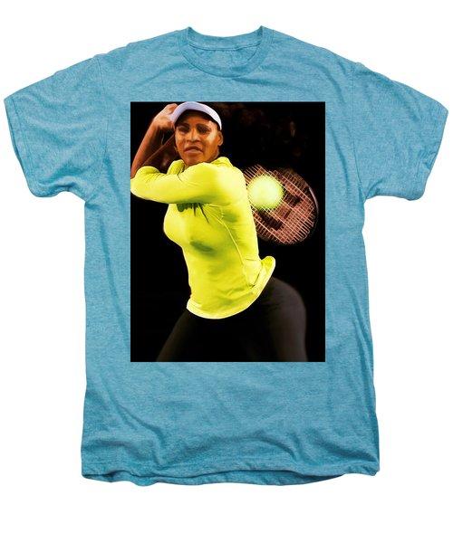 Serena Williams Bamm Men's Premium T-Shirt by Brian Reaves