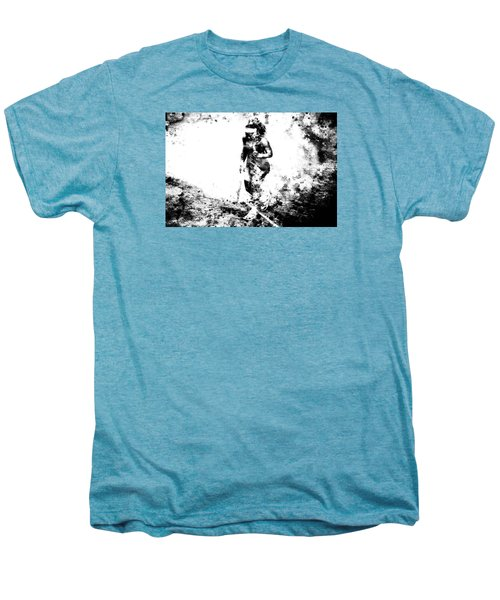 Serena Williams Dont Quit Men's Premium T-Shirt by Brian Reaves