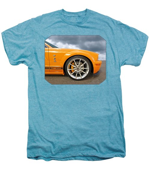 Shelby Gt500 Wheel Men's Premium T-Shirt by Gill Billington