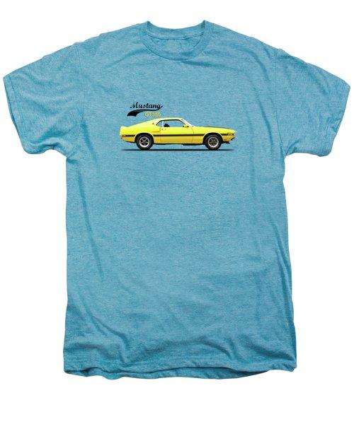 Shelby Mustang Gt350 1969 Men's Premium T-Shirt by Mark Rogan
