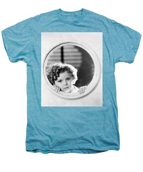 Shirley Temple (1928-2014) Men's Premium T-Shirt by Granger