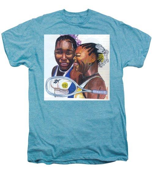Sisters Williams Men's Premium T-Shirt by Emmanuel Baliyanga