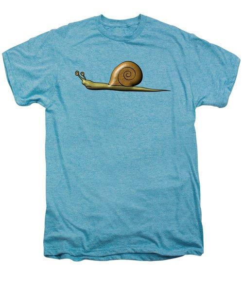 Snail Men's Premium T-Shirt by Michal Boubin