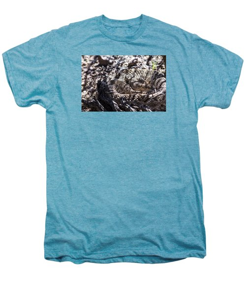 Snake In The Shadows Men's Premium T-Shirt by Chuck Brown