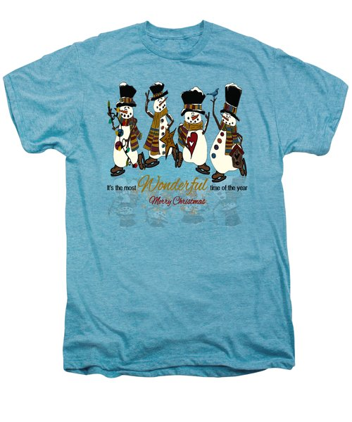 Snow Play Men's Premium T-Shirt by Tami Dalton