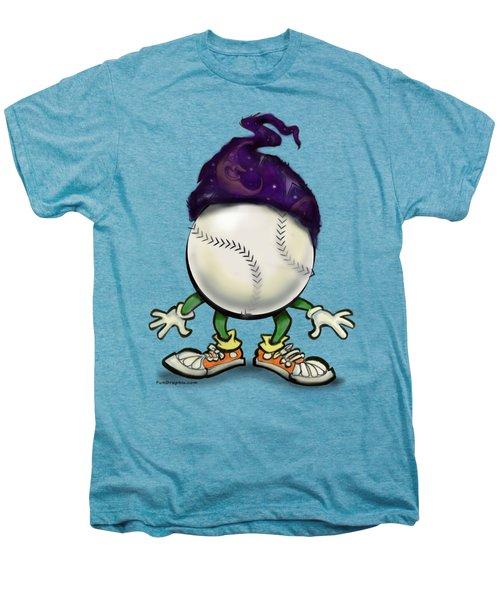 Softball Wizard Men's Premium T-Shirt by Kevin Middleton