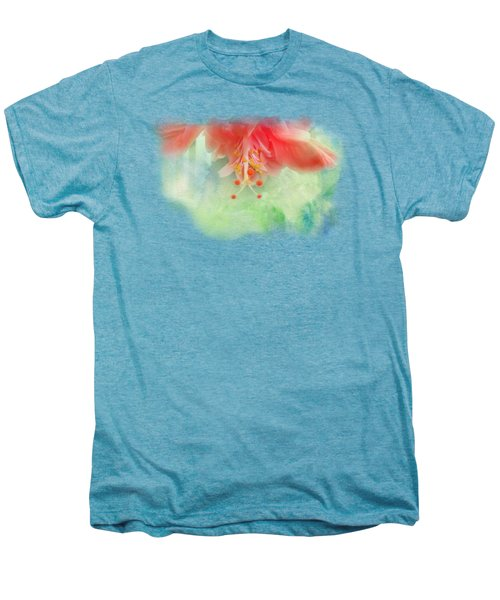 Softly Colored 1 Men's Premium T-Shirt by Judy Hall-Folde