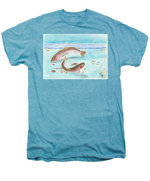 Spawning Rainbows Men's Premium T-Shirt by Gareth Coombs
