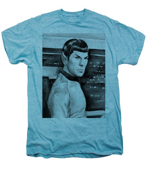 Spock Men's Premium T-Shirt by Olga Shvartsur